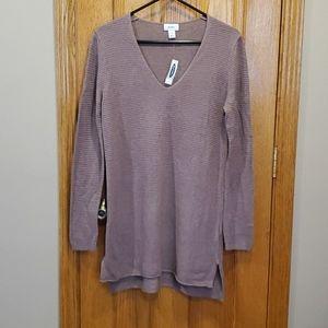 Old Navy Purple Tunic Sweater
